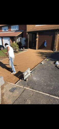 Block Paving Project - Hanson Roofing