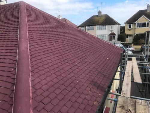 Ridge Tile Repointing Project - Hanson Roofing